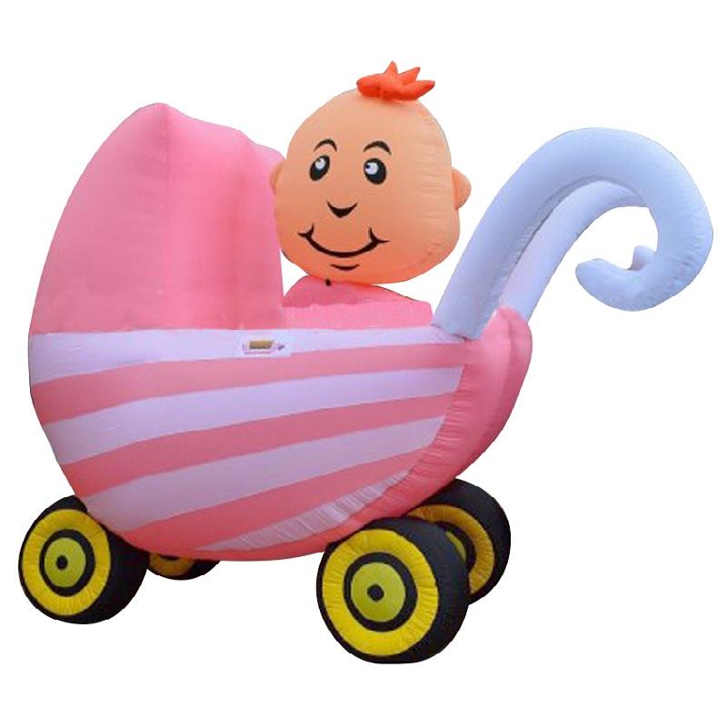 Kinderwagen roze huren