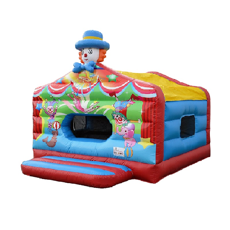 circus springkussen met ballenbad