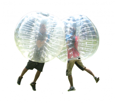 bubble voetbal huren